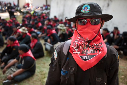 The red shirts' sense of empowerment is such that that they do not feel they have to obey any law or tolerate anything not to their liking.