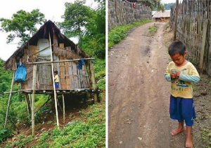 A four-year-old hill tribe boy from Chaing Rai has found a new life in a temple orphanage after spending more than a year begging for food on his own.