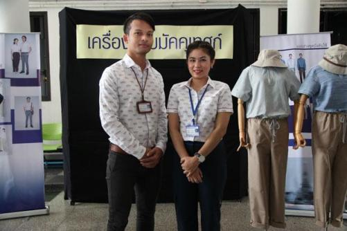 Models show off the new tour guide uniforms at the Department of Tourism in Bangkok on Friday. (Photo by Chadamas Chinmaneevong)