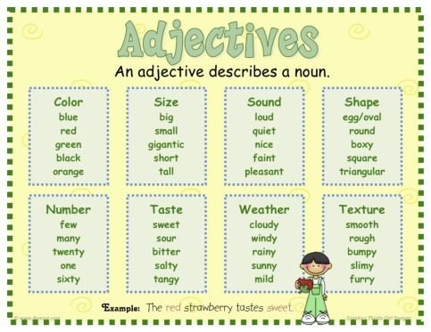 Jen's English Tip's – Adjectives used as nouns