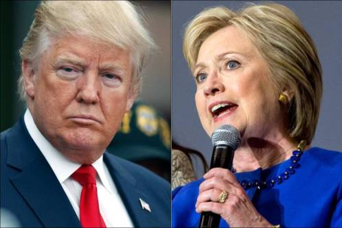 Trump and Clinton clinch Northeast primaries