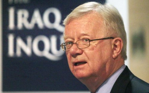 Sir John Chilcot's report cost tax payers over £10.3 Million Pounds and took 7 years to complete