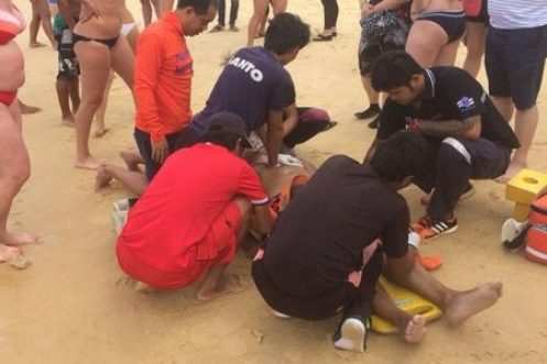 Russian Tourists Drowns at Karon Beach in Phuket, as Lifeguard Dispute Continues