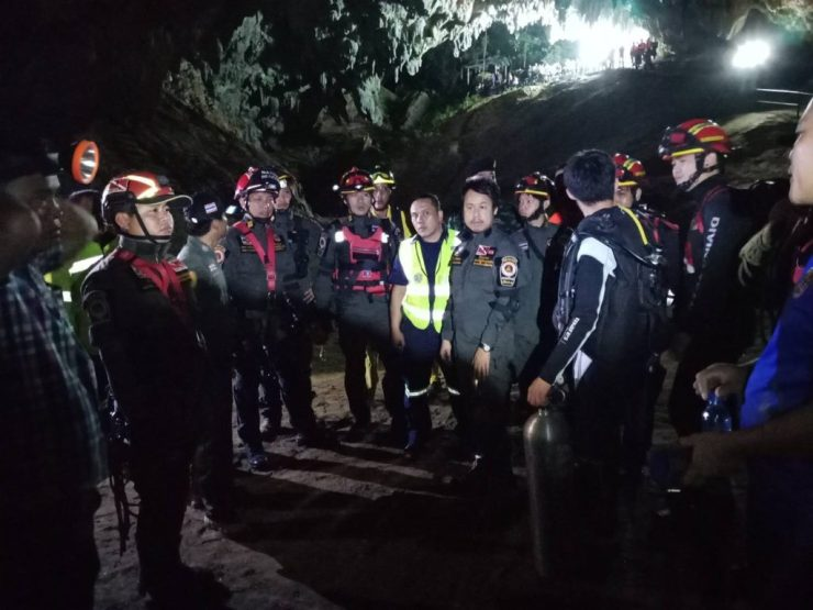 Rescue Operation in Chiang Rai Hits Snag Due to Lack of Necessary Equipment
