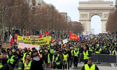 France's Prime Minister Implements Ban on Yellow Vest Protests