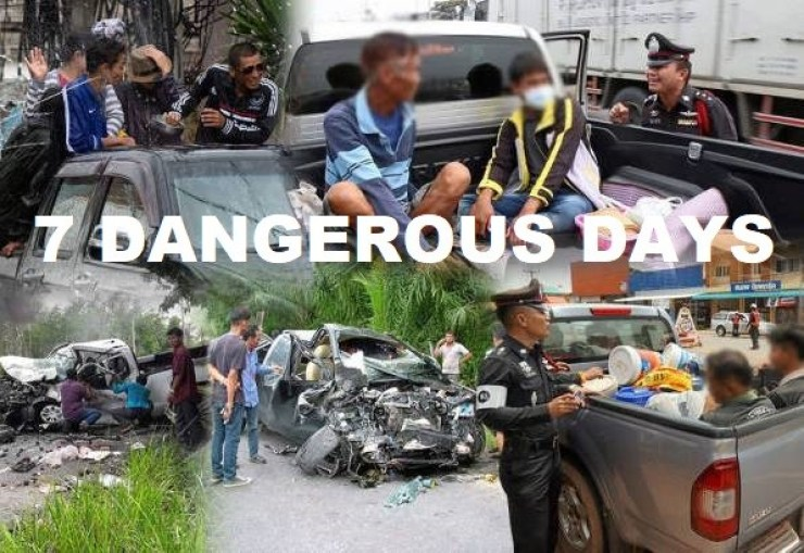 Drunk and Speeding Drivers That Cause Fatal Accidents During Songkran 2019 to be Charged with Murder