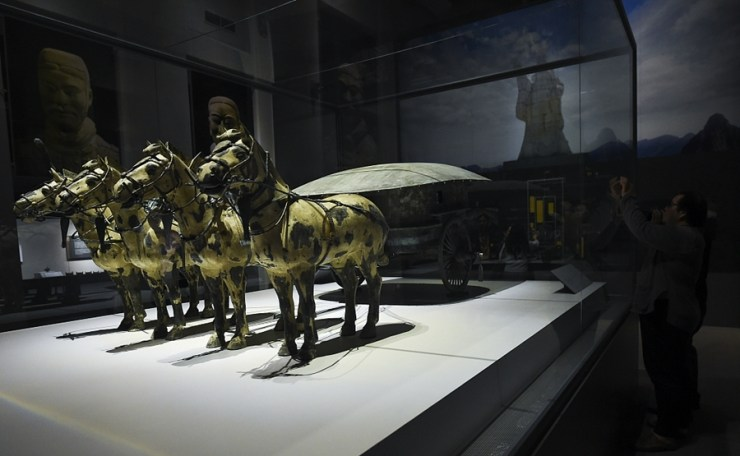 China's Terracotta Warriors Exhibited at Thailand's National Museum