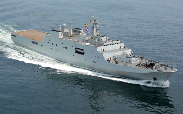 Thailand's Navy Buys 071E Landing Platform Dock (LPD) from China