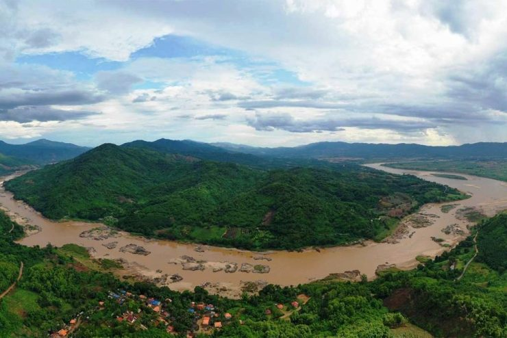 Chinese dams held back Mekong waters