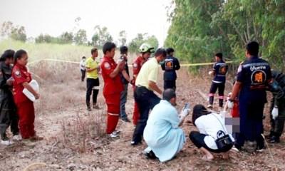 Corpse found northeastern Thailand