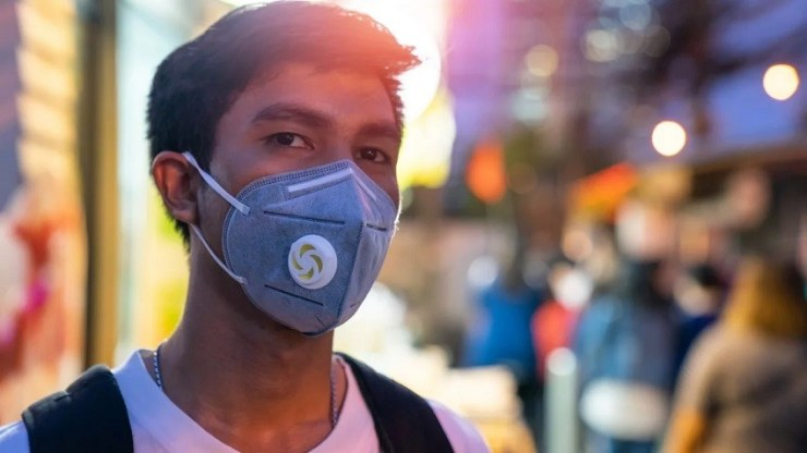 P2 respirator masks (comparable to N95 masks) and surgical masks.