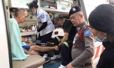 American Rescued Phuket