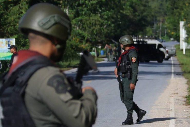 Double Bomb Attack Injures Dozens at Govt Office in Thai South