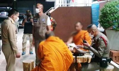 monks arrested Northeastern Thailand