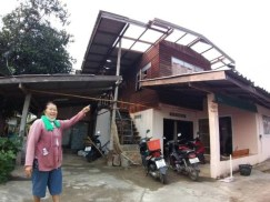 Summer storms ravage northern Thailand