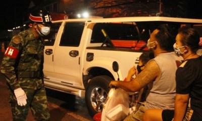 Thailand,Curfew Violators, temples
