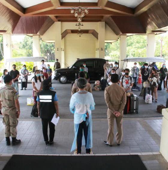 Thai returnees, phuket, chiang rai, quarantine