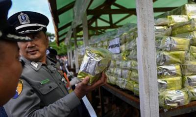 methamphetamine, Myanmar Synthetic drugs seized