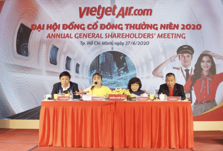 Vietjet, airline, Shareholders