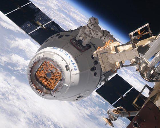 NASA, SpaceX Dragon, Space Station