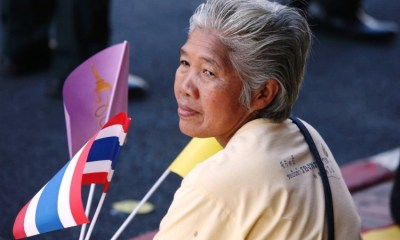 elderly tourists thailand tourism