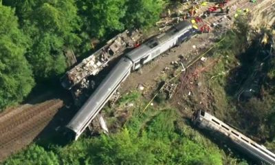 Passenger Train, Derails, Scotland