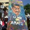 Exigen liberación del profesor indígena Alberto Patishtán. Foto: Sandra de los Santos/ Chiapas PARALELO.