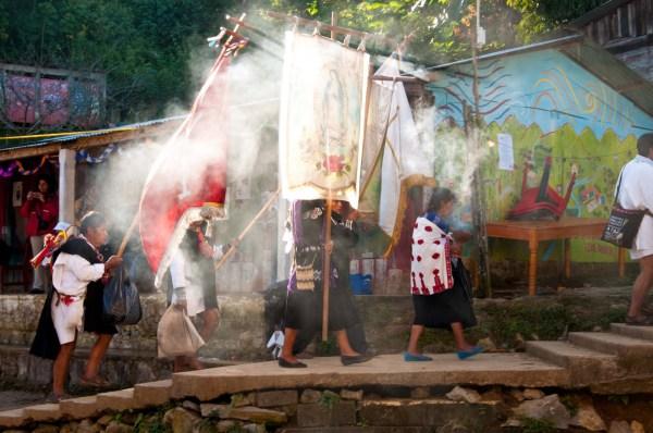 Integrantes de la Sociedad Civil Las Abejas de Acteal denunciaron que en los últimos meses se reactivaron las agresiones en Chenalhó. Foto: Archivo Abejas de Acteal