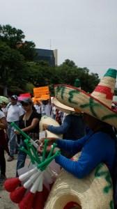 Maestras y maestros han realizado manifestaciones ininterrumpidas desde el pasado 28 de agosto. Foto: Sarelly Martínez/Chiapas PARALELO