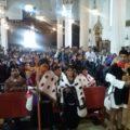 Miles de indígenas que mantuvieron durante vatios días jornadas de oración y ayuno a favor de Patishtán, anunciaron que continuarán luchando por la la libertad del maestro y líder indígena de El Bosque. Foto: Carlos Herrera