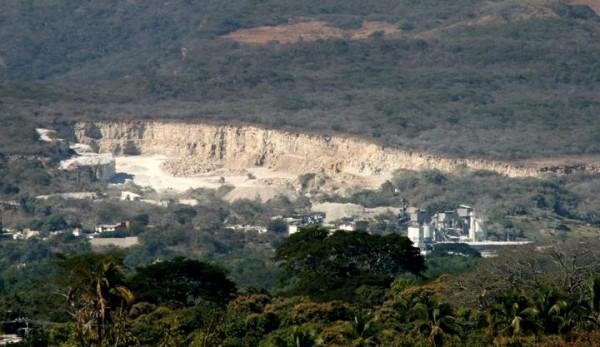 Cales y Morteros del Grijalva SA de CV, podría ser cerrada a futuro: Semarnat. Foto: Isaín Mandujano/Chiapas PARALELO