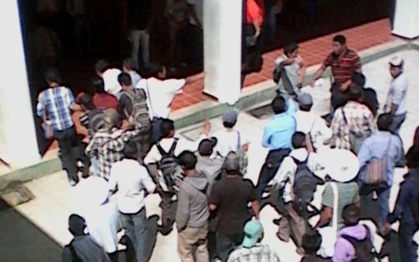 Manifestación en Yajalón. Foto: Cortesía