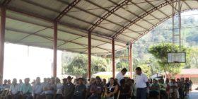 Se sumaron a habitantes de los municipios de Tecpatán y Francisco León, quienes iniciaron un movimiento de resistencia contra los proyectos extractivos.