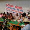 Activistas y pobladores de Acacoyagua contra la mienría extractiva