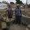 Cintalapa, Chiapas. 18 de Septiembre de 2017. La senora Luz Garcia Lopez y su esposo el senor Alfonso Rodriguez Clemente posan en los escombros de su casa Elementos de la Marina trabajan en el derrumbamiento de 170 casas afectadas por el sismo del pasado jueves 7 de Septiembre pasado en el ejido Lazaro Cardenas del municipio de Cintalapa en el estado de Chiapas. La ayuda que ha llegado a las mas de 400 familias afectadas consiste unicamente en una pequena despensa del DIF Estatal. Foto: Moyses Zuniga Santiago