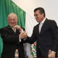 Patrocinio González Garrido y Rutilio Escandón Cadenas.