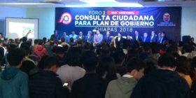 Foros convocados por el gobernador electo, Rutilio Escandón. Foto: Facebook