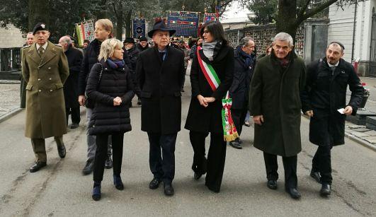 Corteo Giorno della Memoria Sindaca Appendino Chiamparino Torino