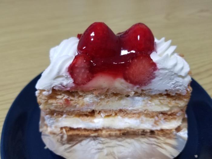 ケーキハウス クドウのナポレオン