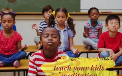 Why should kids learn Meditation