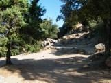 Le chemin vers la randonnée