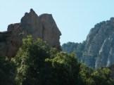 Le rocher ressemble à une tête de profil...