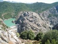 Le barrage du lac de Tolla