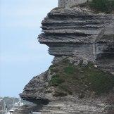 La falaise à Bonifacio