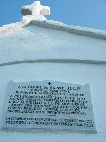 La petite chapelle et son histoire.
