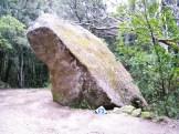 Une pierre signalée d'un petit panneau... dont j'ignore la signification préhistorique