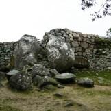 L'entrée du château de Cucuruzzu.