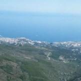 Panorama sur Bastia et la plaine.