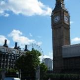 Big Ben sous le soleil.