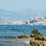 Toujours Calvi depuis la plage